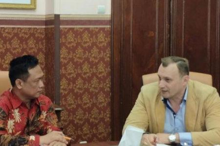 Руководитель проекта «муниципальная дипломатия» Аркадий Павлинов: «Сделан ещё один важный шаг на пути к укреплению дружбы между Россией и Индонезией»